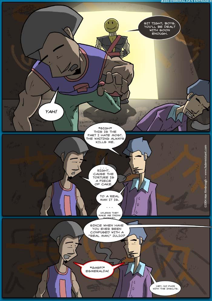 (260) Esmeralda's Entrance