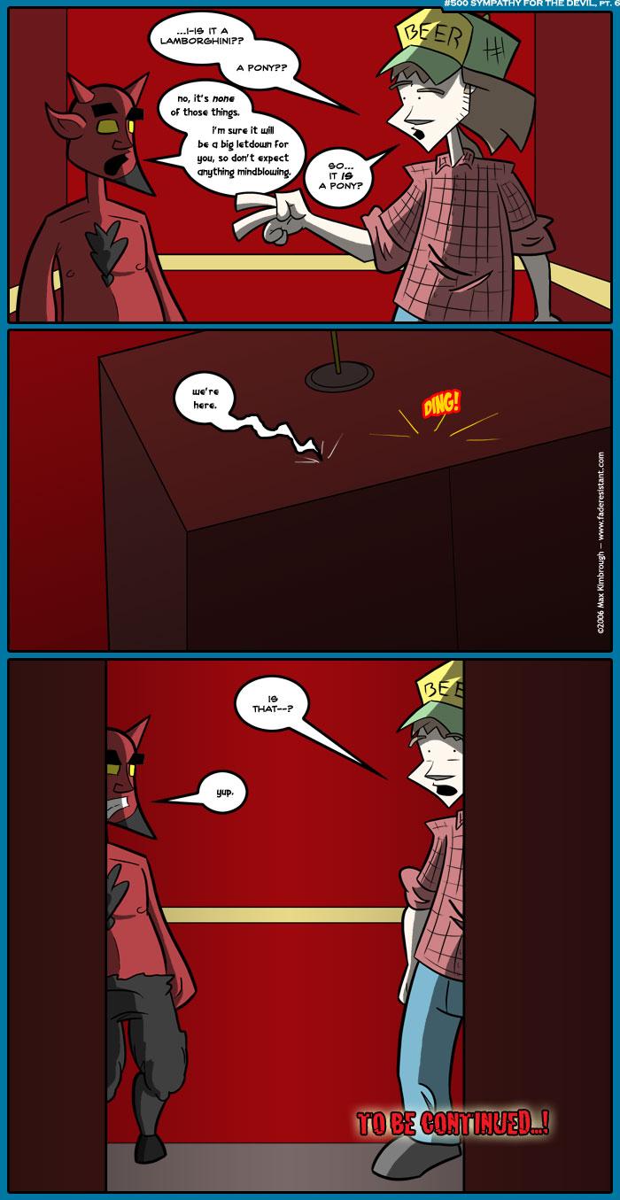 (500) Sympathy for the Devil, pt. 6