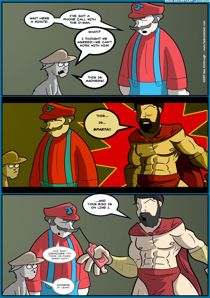 (539) Secretary Leonidas