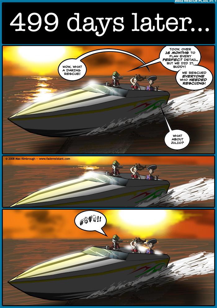 (602) Rescue Plan, pt. 1